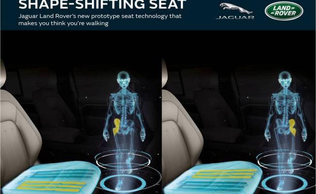 Новое сиденье Jaguar Land Rover минимизирует риски из-за сидячего образа жизни