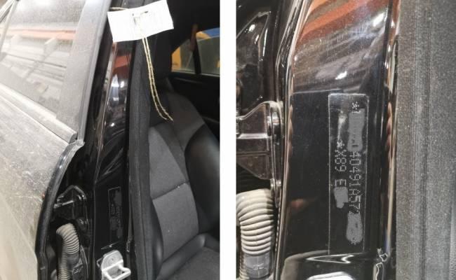 В России впервые нанесли маркировку на ранее угнанный автомобиль