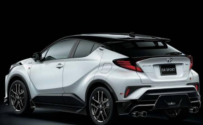 Toyota C-HR может обзавестись быстрой модификацией GR