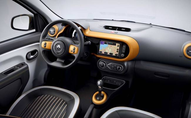 Renault представила электрического малыша Twingo Z.E.