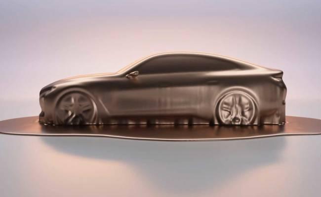 BMW готовится к премьере электроседана i4