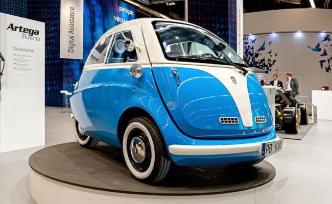 Швейцарцы сделали новую копию BMW Isetta (старую похитили немцы)