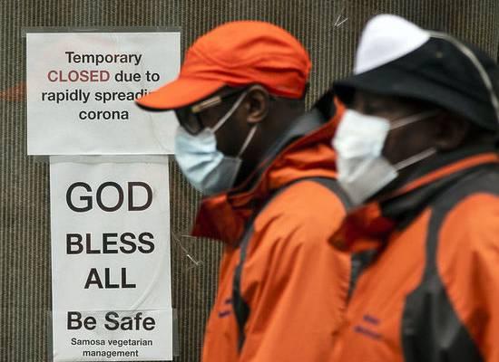 США отобрали у Китая лидерство по числу зараженных коронавирусом