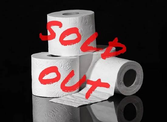 В России зафиксировали рост продаж туалетной бумаги на 47%