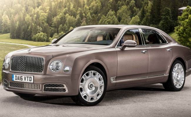Bentley работает над кроссовером, который заменит седан Mulsanne