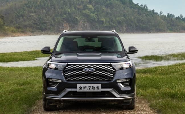 Ford выпустил китайскую версию нового Эксплорера с другой внешностью и 2,0-литровым мотором