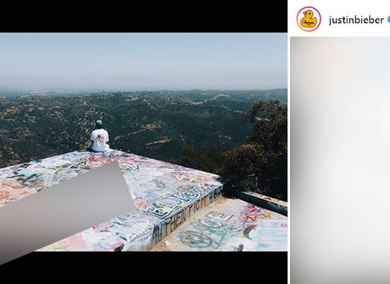 Фото Джастина Бибера с русским матерным словом взорвало сеть