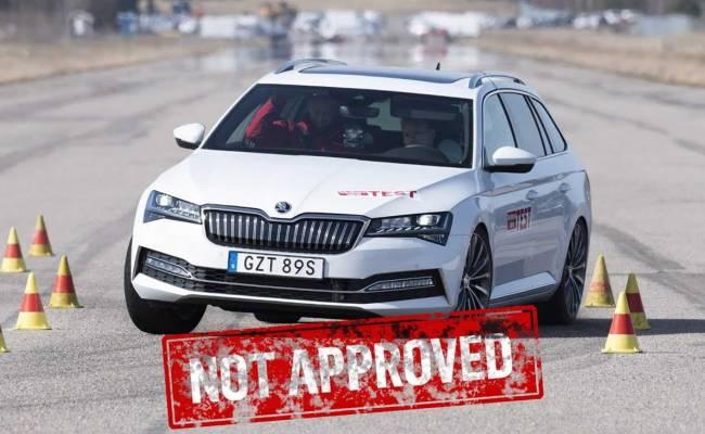 Volkswagen Passat и Skoda Superb провалили «лосиный тест»