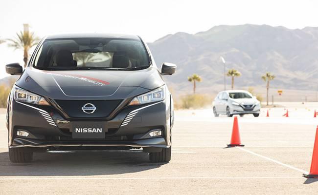 Nissan показал в действии продвинутую электрическую полноприводную систему e-4ORCE (ВИДЕО)