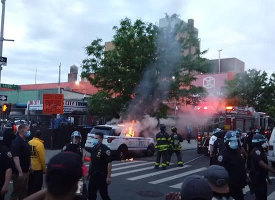В Генпрокуратуре США сообщили об «иностранном вмешательстве» в протесты