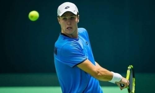 Казахстанский теннисист взял реванш у аргентинца и выиграл очередной матч на турнире в США