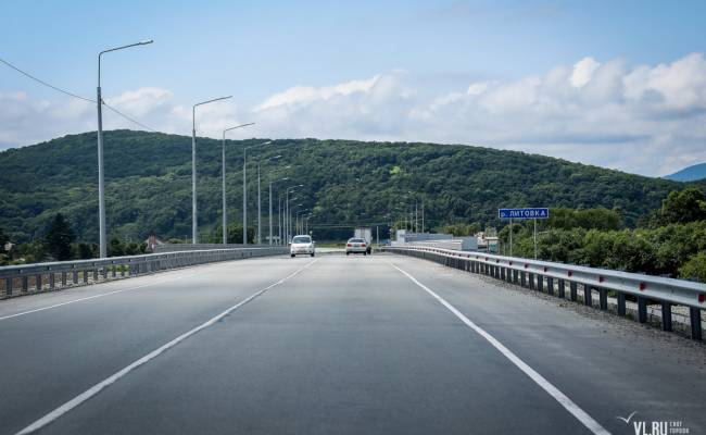 На трассе Владивосток — Находка отремонтировали наиболее проблемные участки