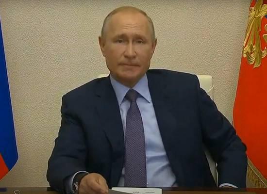 Путин заявил об историческом шансе решить жилищный вопрос россиян