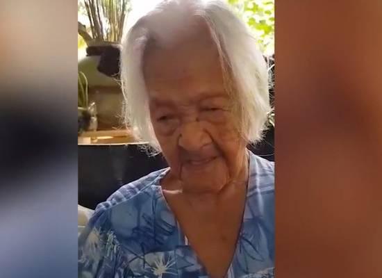 Родившаяся в 1897 году женщина раскрыла секрет своего долголетия