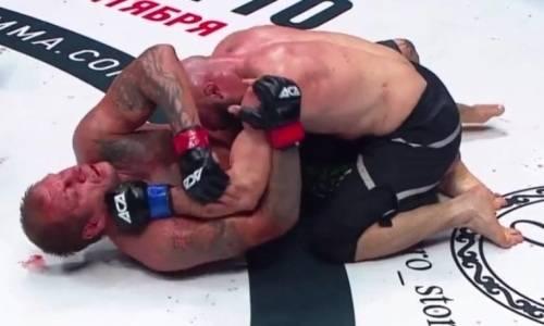 Исмаилов сенсационно избил и нокаутировал Емельяненко на турнире с участием казахстанца