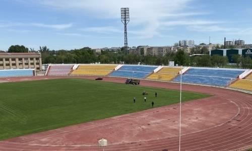 «Кайсар» выбрал стадион для проведения матчей Лиги Европы