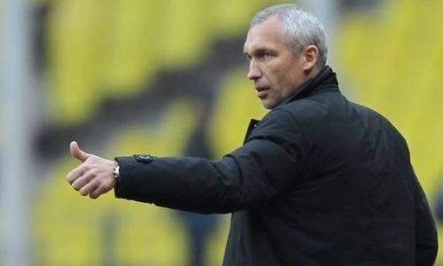 Обнародована зарплата бывшего тренера «Астаны». Он руководит украинским футболом