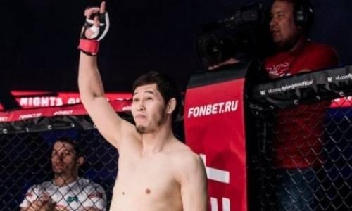 Казахстанский файтер Даурен Ермеков может стать двойным чемпионом