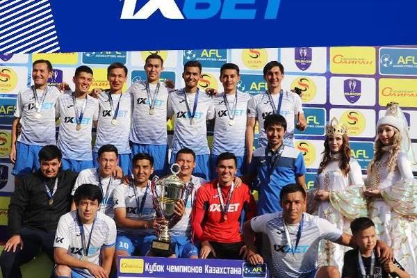 1xBet (Алматы) — победитель Кубка чемпионов Казахстана 2020