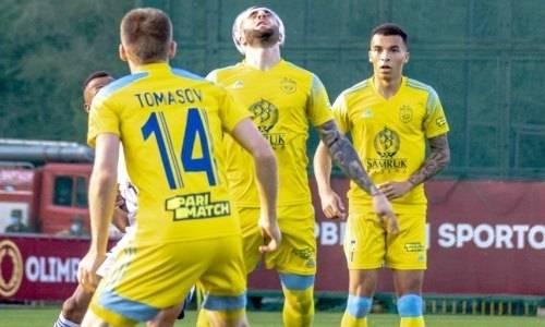 Прямая трансляция матча Лиги Европы «Астана» — «Будучность»