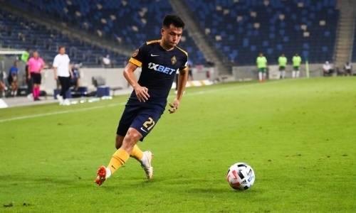 «Теперь матч остался в истории». Футболист «Кайрата» сделал вывод из поражения от «Маккаби»