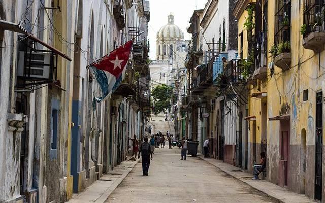 Жилое здание обрушилось в историческом центре Гаваны