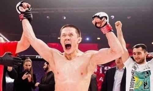 Жалгас Жумагулов заменил своего обидчика по дебютному бою в UFC в следующем поединке
