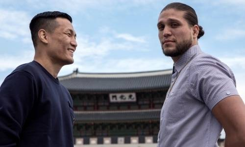 Прямая трансляция турнира UFC Fight Night 180 с главным боем Ортега — «Корейский Зомби»