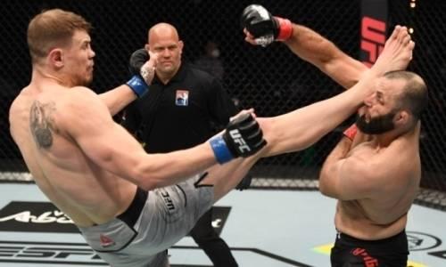 Российские бойцы UFC рубились до нокаута за две секунды до конца раунда. Видео