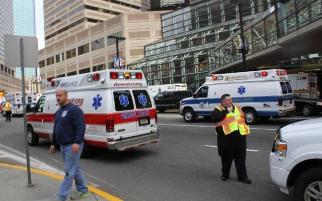 В штате Вирджиния пять человек пострадали при взрыве в торговом центре
