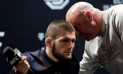 Получит ли Конор Макгрегор чемпионский пояс Хабиба Нурмагомедова? Ответил президент UFC