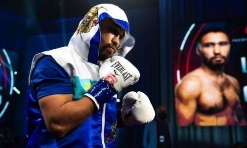 Уроженец Казахстана нацелился на бой с бывшим чемпионом мира