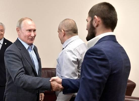 """Путин пригласил Хабиба в Кремль """"после пандемии"""""""