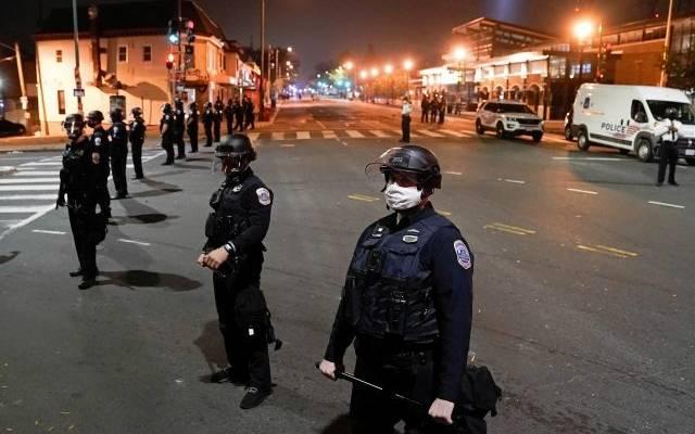 Протесты после смертельного ДТП в Вашингтоне переросли в стычки с полицией