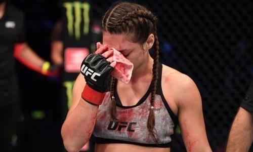 Российская красотка из UFC отстранена от боев на длительный срок после кровавого поражения