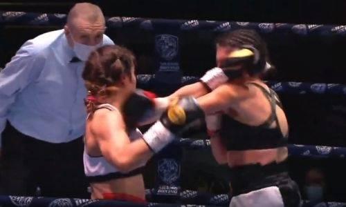 Колотила, молотила, победила. Видео полного боя казахстанки Фирузы Шариповой против сербки в Москве
