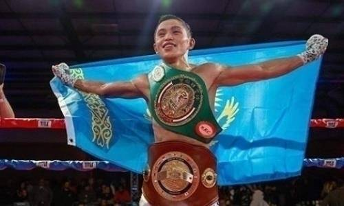 Бывший чемпион WBC из Казахстана одержал девятую победу на профи-ринге