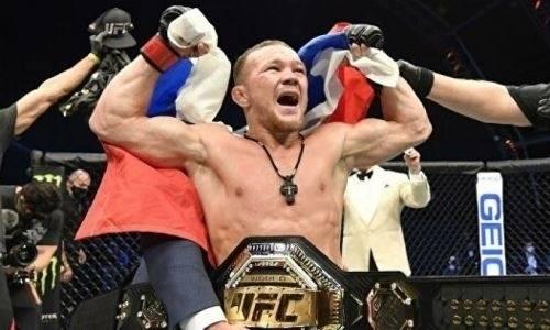 Отменен бой российского чемпиона UFC Петра Яна