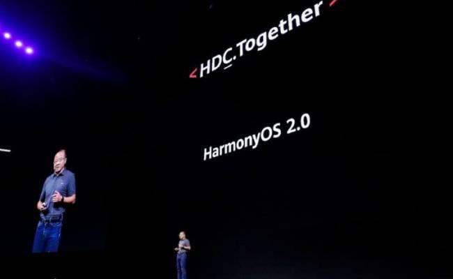 Huawei объявила, когда выйдет Harmony OS 2.0 для смартфонов