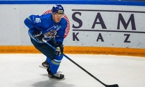 Сыграв всего шесть матчей форвард сборной Казахстана покинул российский клуб, в который перешел после семи сезонов в «Барысе»