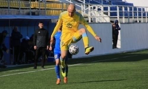«Астана» официально объявила о расставании с одним из своих лидеров