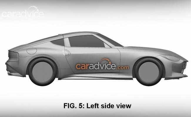 Опубликованы патентные изображения спортивного купе Nissan 400Z