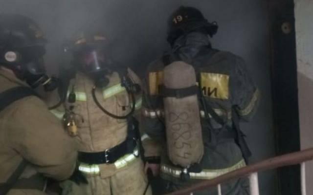 В Краснодаре в результате пожара в супермаркете погиб человек