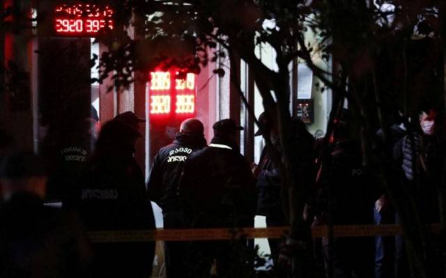 В Тбилиси во время ареста Мелии были задержаны более 20 человек