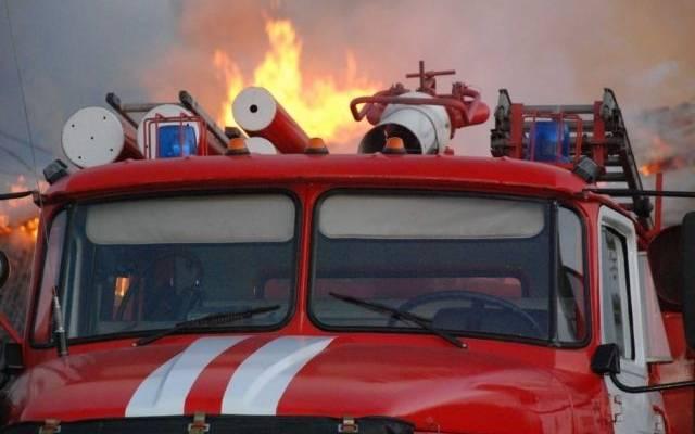 Пожар на рынке в Мурманске потушен
