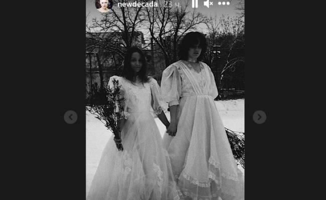 Дочь Гузеевой снялась в однополой свадебной фотосессии
