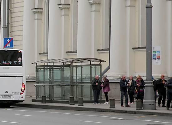 Подготовка к посланию Путина заставила отменить остановку автобуса в центре Москвы