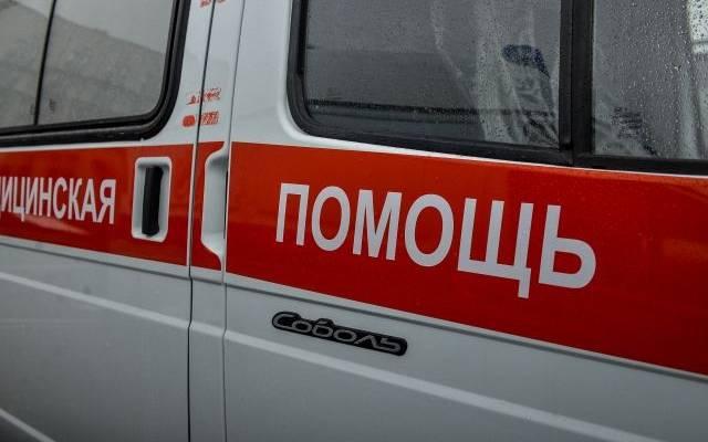 В Волгограде обрушился балкон, на котором находилась пожилая женщина
