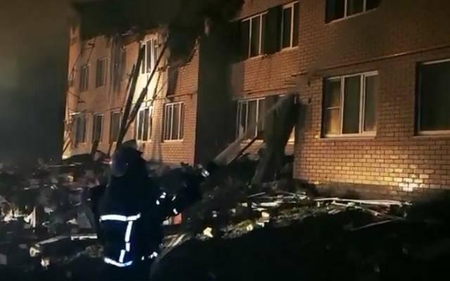 В Нижегородской области из-под завалов дома извлекли младенца