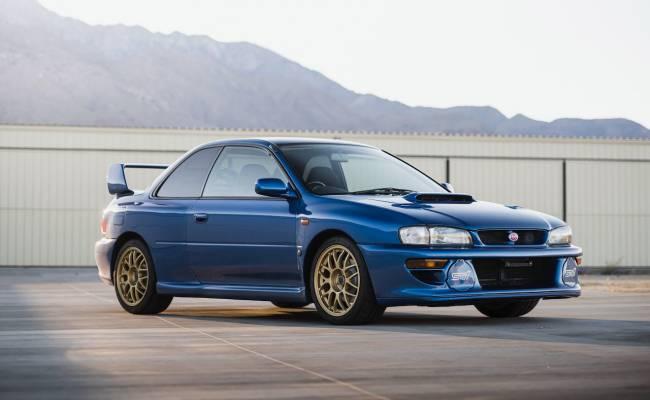 Subaru Impreza STi 1998 года купили за $312 000